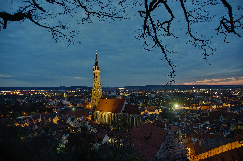 ... durch Landshuts gotische Altstadt